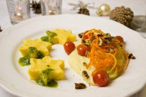 ארוחה טבעונית לחג
